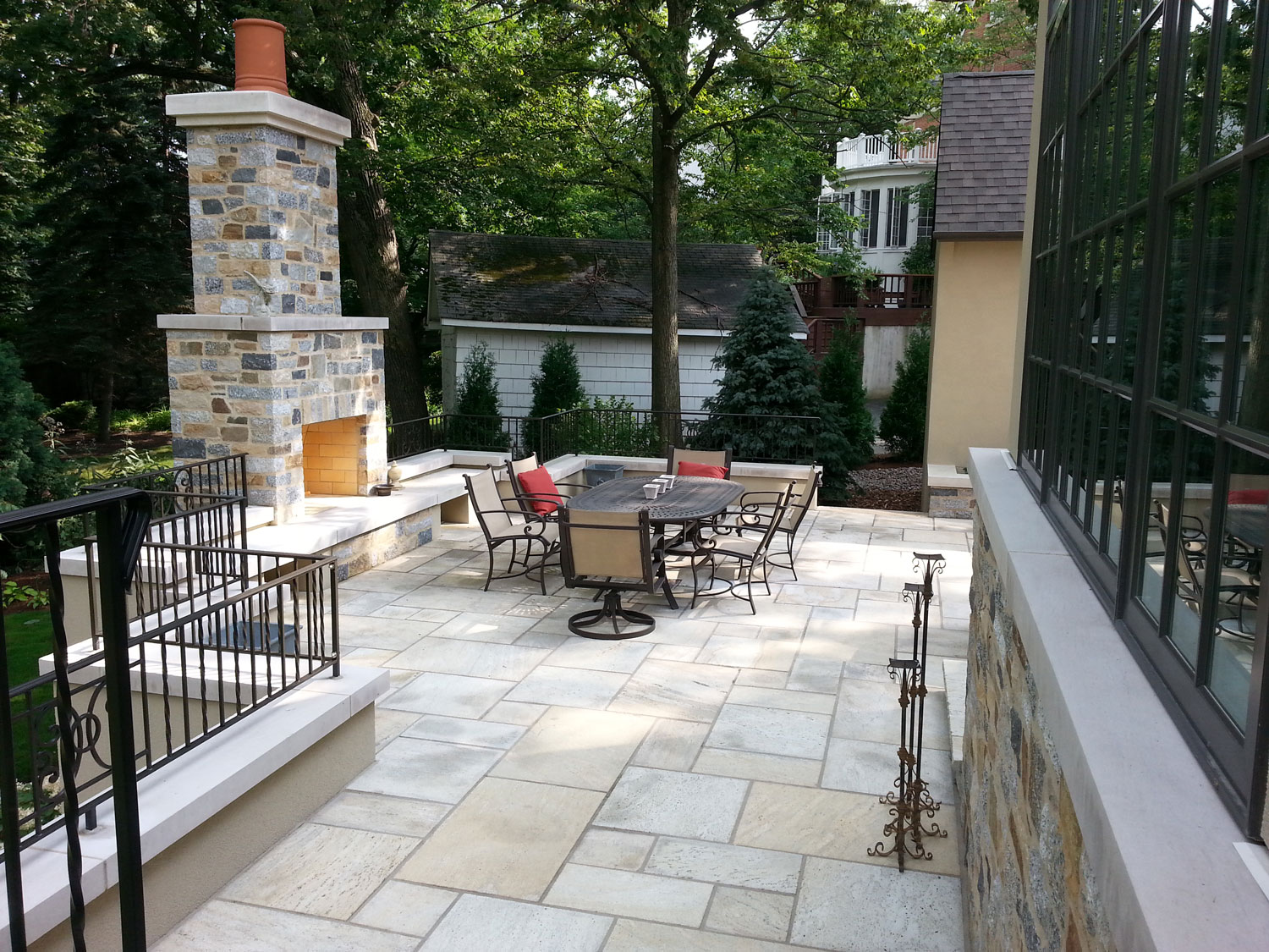 Fire Feature - New England Granite