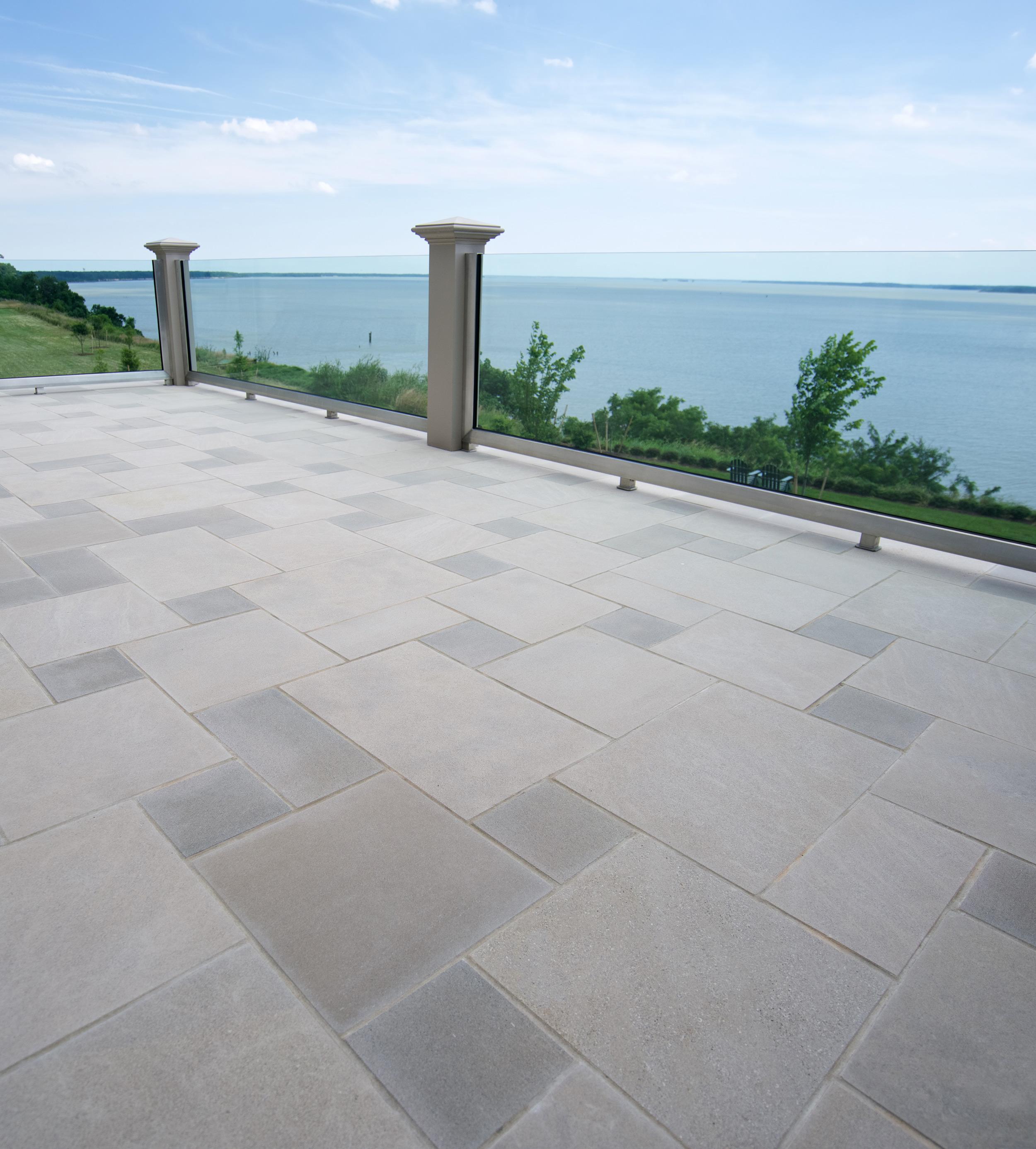 Pattern Paving - Indiana Limestone