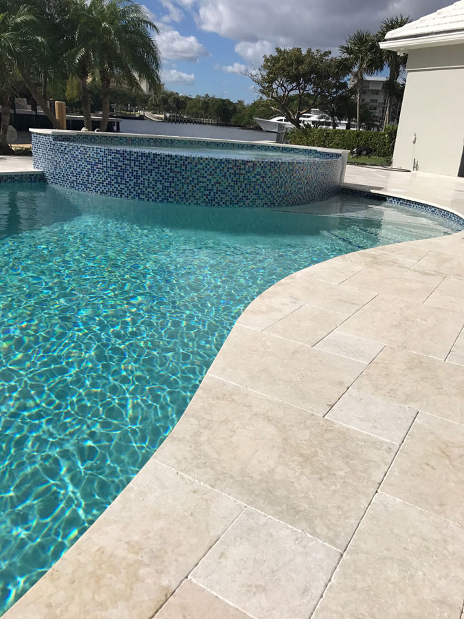Pools - Crema Bella Travertine
