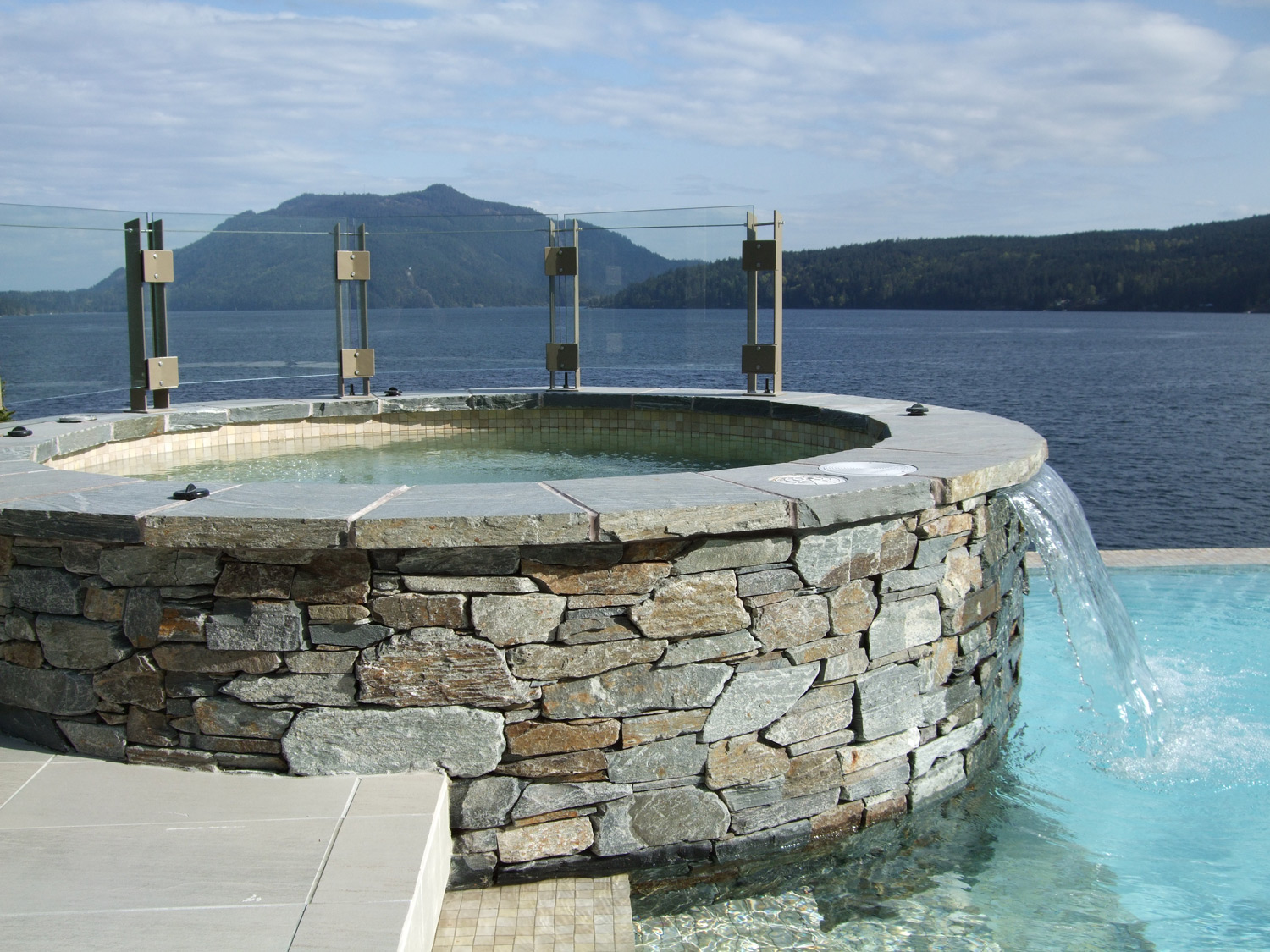 Pools - Ocean Pearl Granite