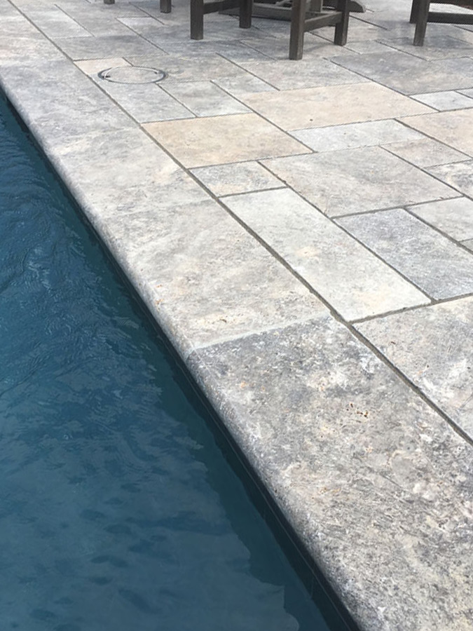Pools - Silver Travertine