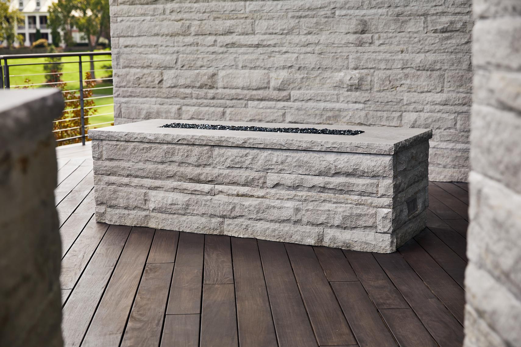 Fire Feature - Phenix Limestone
