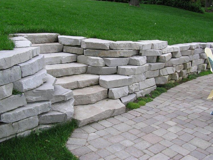 Steps & Treads - Wisconsin Limestone, Fond du Lac