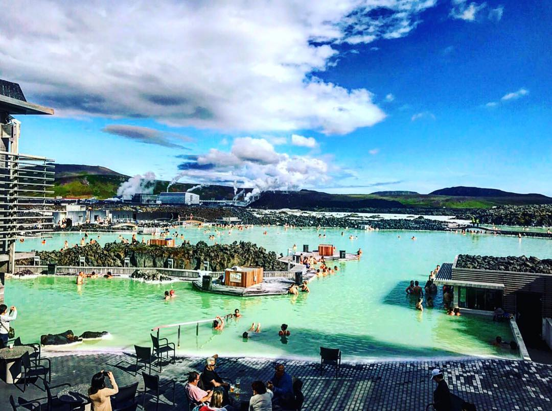 Photo by Briana L. at the Blue Lagoon in Iceland