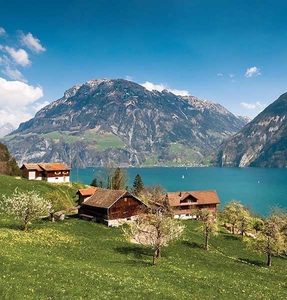 Germany, Italy & Switzerland -