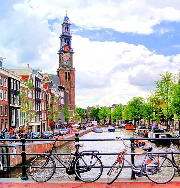 Amsterdam, Paris & London -