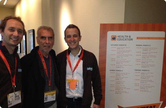 Steven Krein, Unity Stoakes, and Jerry Levin Meet at SXSW to Plant Seeds for Transforming Health - March 2011