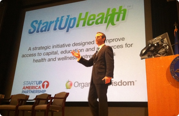 US CTO Aneesh Chopra and Steven Krein Announce StartUp Health Mission at Health Datapalooza Conference in DC - June 2011