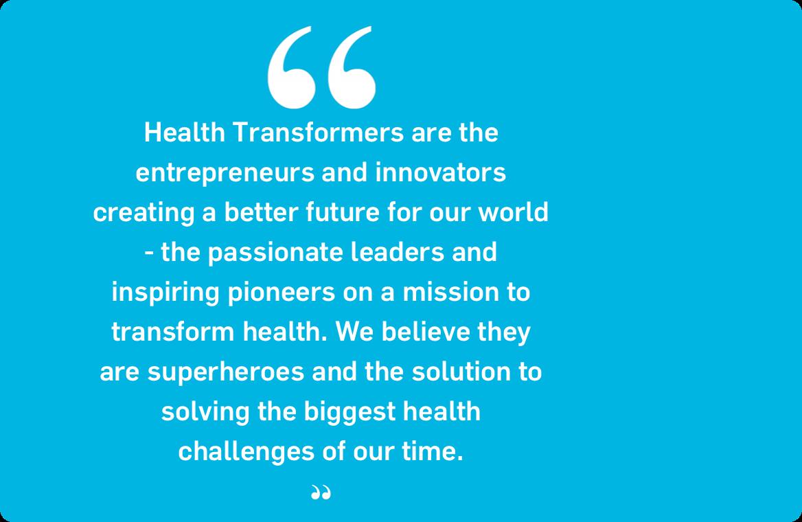 StartUp Health Coins Term Health Transformer™ to Recognize Super-Entrepreneurs Focusing on Health Innovation - June 2011