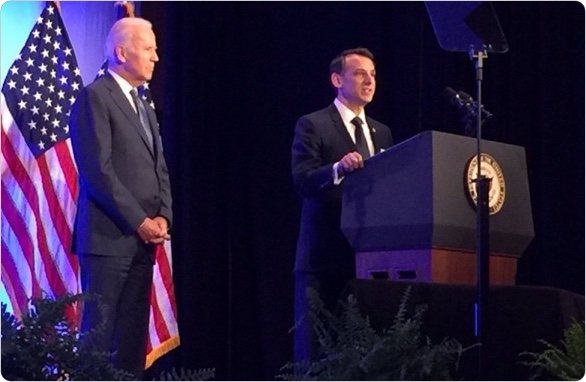 Dr. Howard Krein, StartUp Health CMO, Introduces Vice President Biden at Health Datapalooza - June 2016