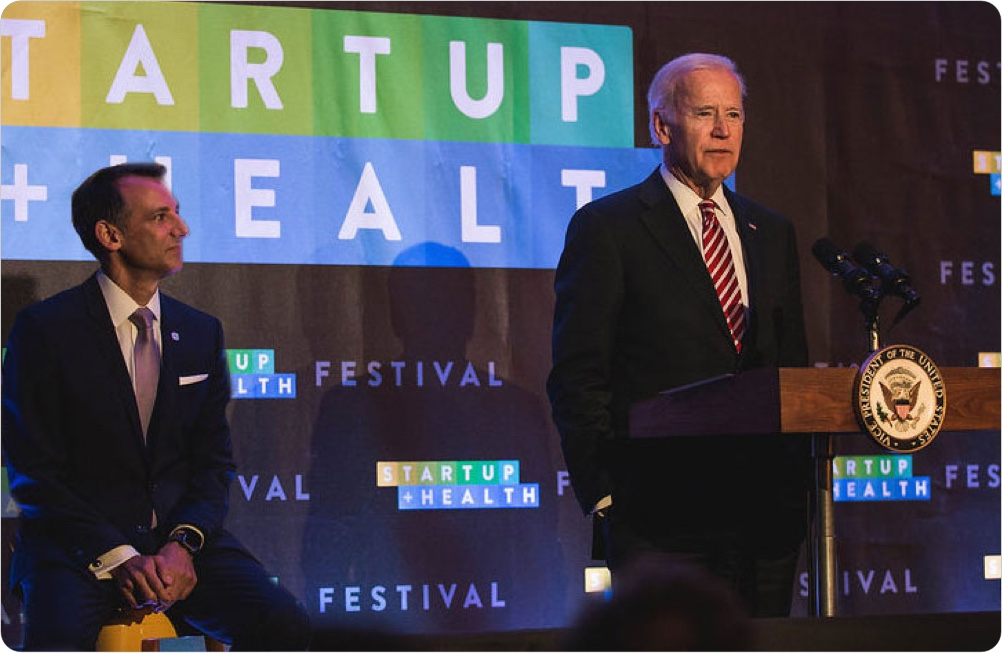 Biden Cancer Initiative Launches With StartUp Health Chief Medical Officer, Dr. Howard Krein, on Board of Directors - June 2017