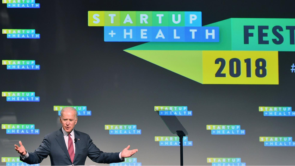 Former Vice President Joe Biden Brings Words of Hope and Wisdom to the StartUp Health Festival - Jan. 10, 2018