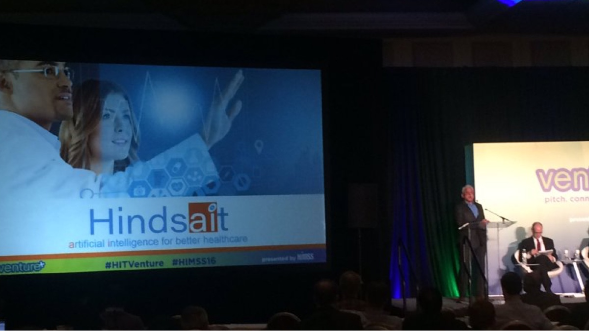 Hindsait's CEO on the Power of AI in Healthcare - Aug. 24, 2016