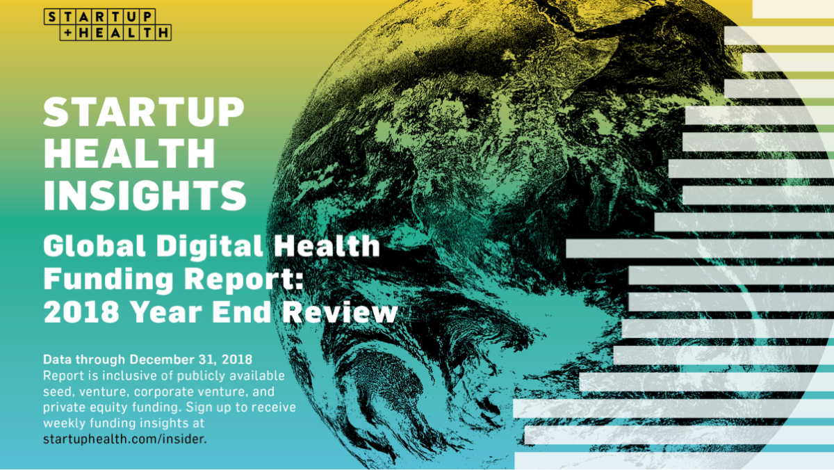 Blockbuster Funding, a Record-Setting StartUp Health Festival, and Health Transformers Reimagining Social Networks. Welcome to 2019. - Jan. 16, 2019