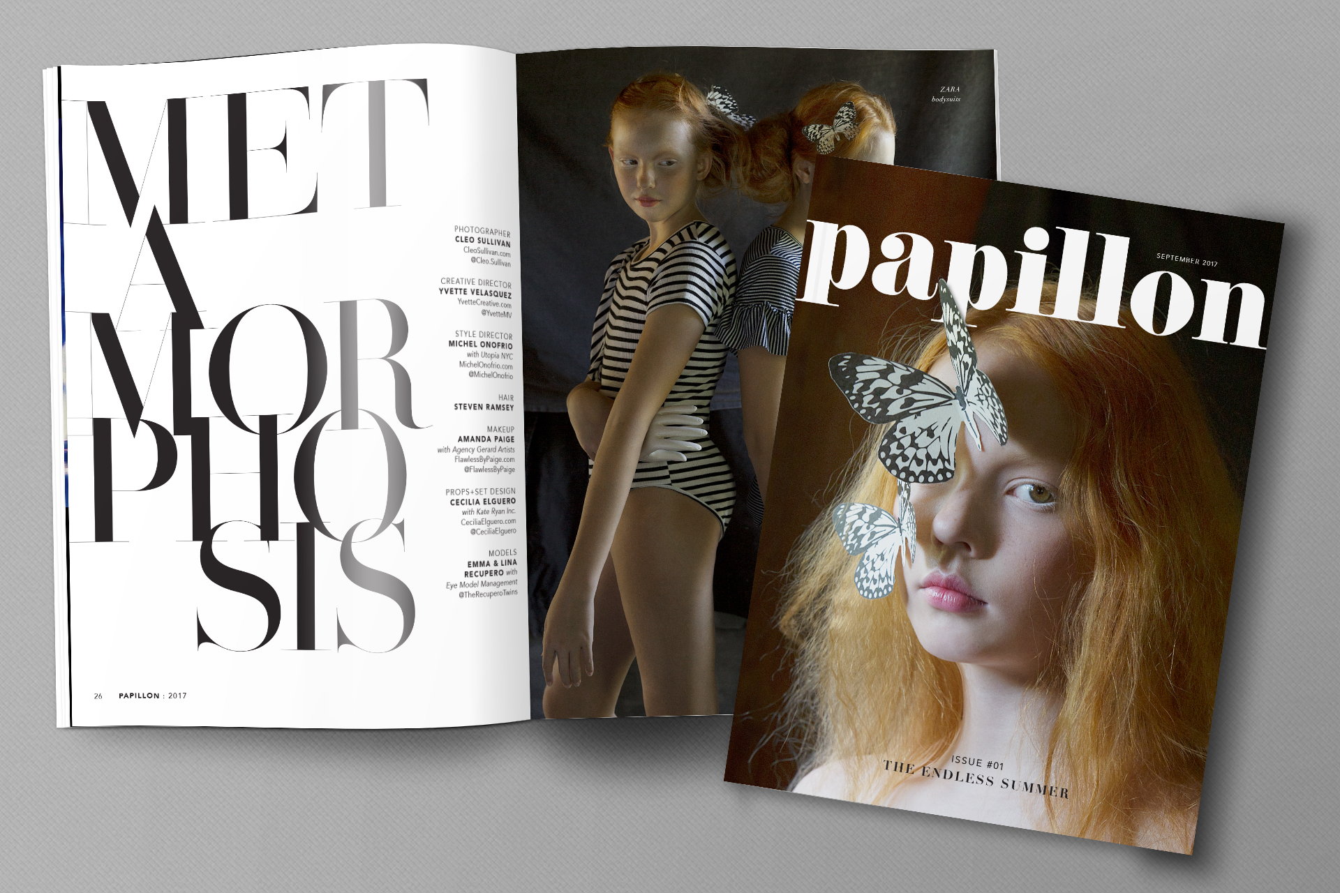 no. 01endless summer - (72-page printed magazine)