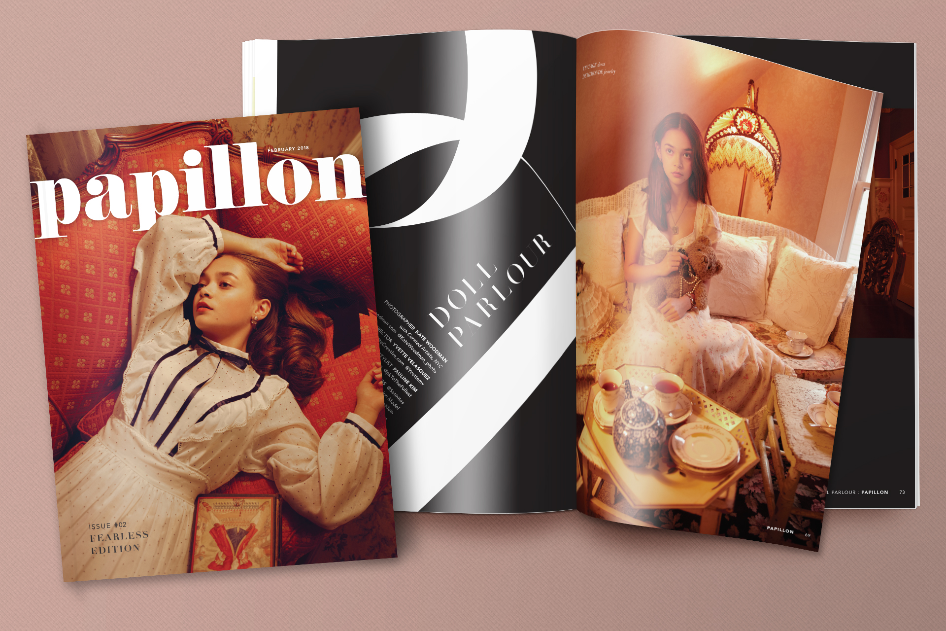 NO. 02FEARLESS EDITION - (96-page printed magazine)
