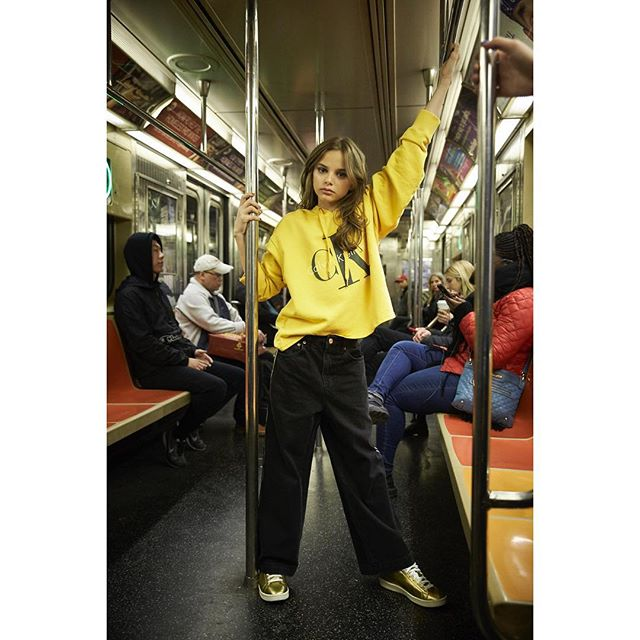 #papillongirl 🦋 @isabelle_aguirre is the coolest Girl on the train 🖤 PHOTOGRAPHER Cindy James with Alyssa Pizer @CindyJamesPhoto PinkDotProductions.com CREATIVE DIRECTOR Yvette Velasquez @Yvette.Velasquez YvetteCreative.com STYLE DIRECTOR Michel Onofrio with Utopia NYC @MichelOnofrio MichelOnofrio.com HAIR + MAKEUP Crystal Gossman  with Bobby Gerard  @CrystalGossman_ CrystalGossman.com  NAIL ARTIST Rina Otsuka @Rinaldduck MODEL Isabelle Aguirre with Zuri Model & Talent @Isabelle_Aguirre @ZuriModelAndTalent PHOTO ASSISTANT Lee Dirksen @ElroyFoto VIDEOGRAPHER/PHOTO ASSISTANT Josh David Jordan @JoshDavidJordan PRODUCTION ASSISTANT Gretchen Stankey @Gretchen_Elizabeth #calvinklein @calvinklein #denimdungaree @denimdungaree #new balance @new balance #girlsrule #girlpower #tweenfashion #teenfashion #printisnotdead #teenmodels #tweenmodels #tweenmagazine @teenmagazine #girlonatrain