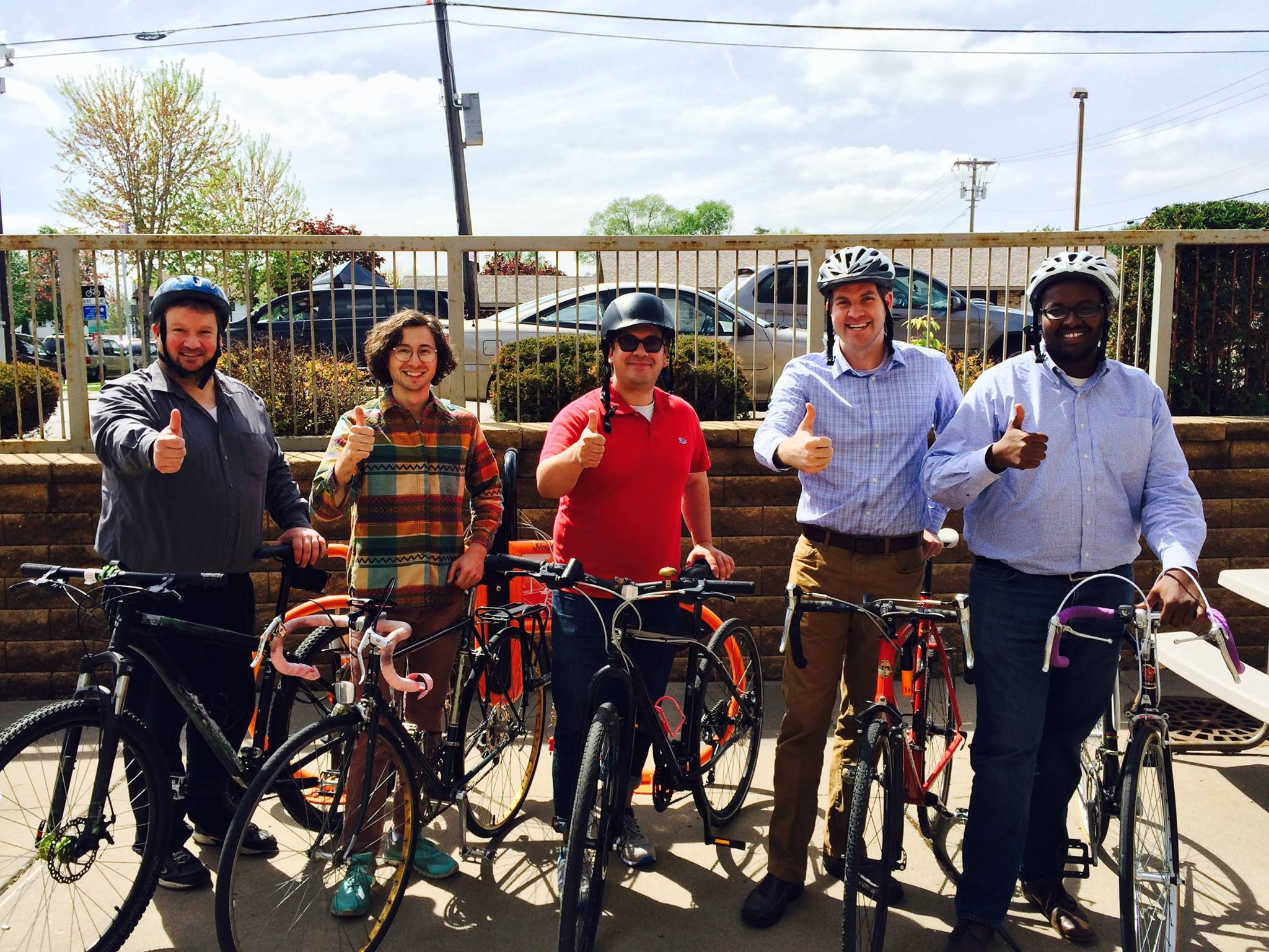 Bike to Work Day with the Ellison Team