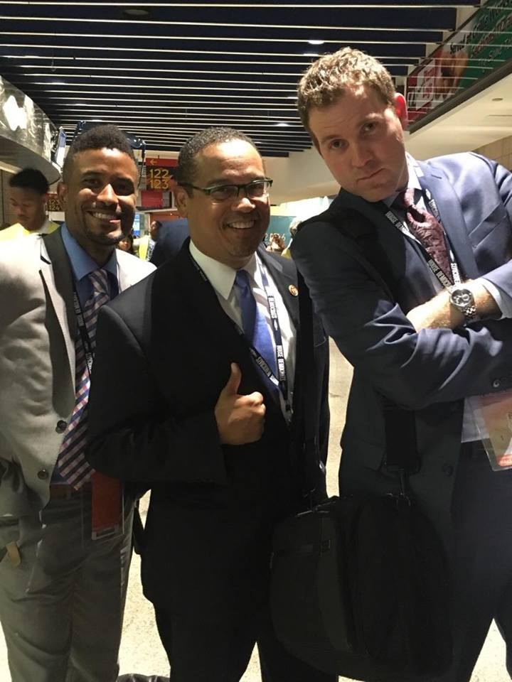 Backstage at the Democratic National Convention