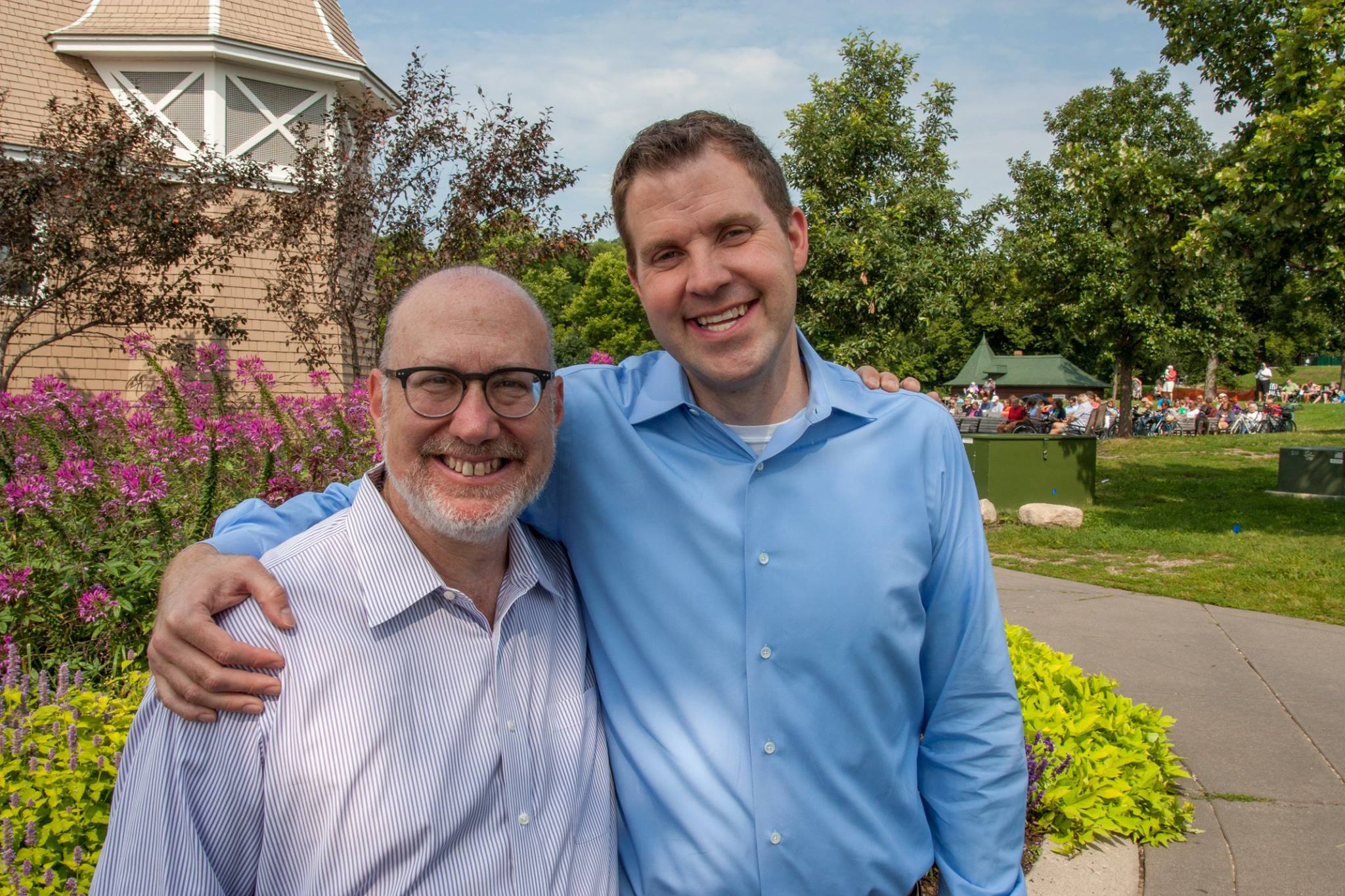 """Jamie knows the power of grassroots organizing, and has deep ties to community groups and local and state leaders. On day one, he'll have what it takes to build strong, diverse coalitions around progressive values."" Honored to have the endorsement of Representative Frank Hornstein, campaign co-chair."