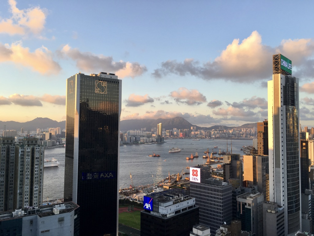 Where in the world will you work? This photo features Sage Corps program city Hong Kong.