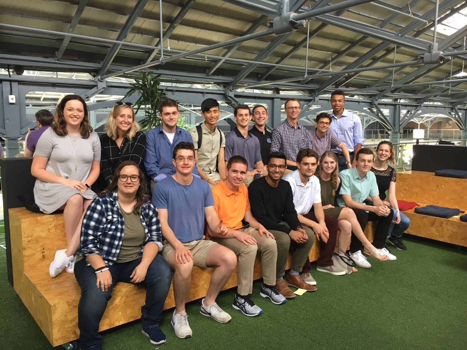 Phil and the Sage Corps Summer 2017 Dublin cohort at  Dogpatch Labs .
