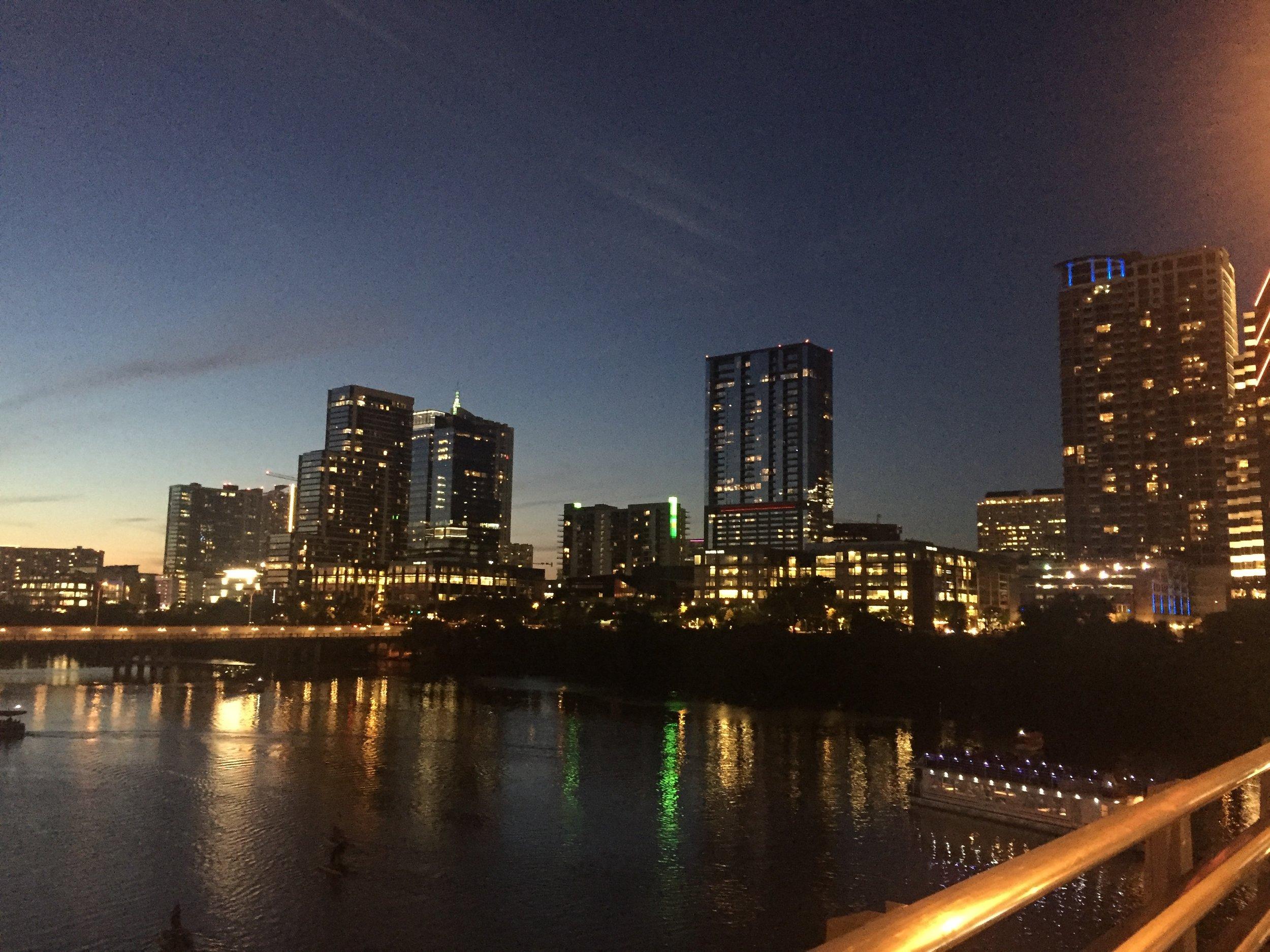 Austin-at-night