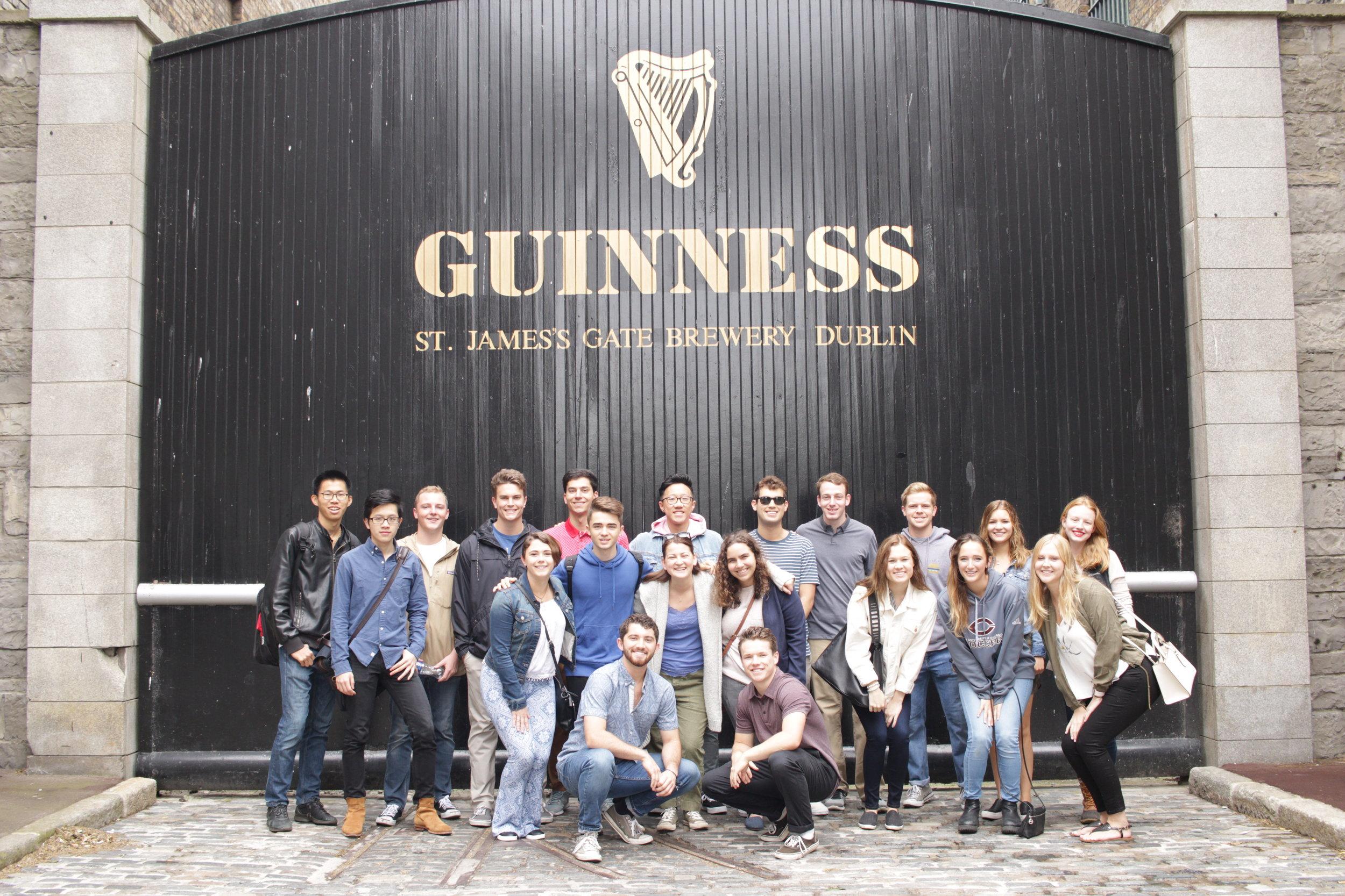 Guinness Tour Dublin 2018