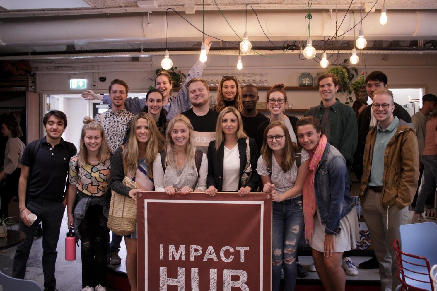 Summer 2018 Amsterdam cohort at Impact Hub