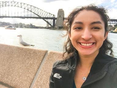 Samina Abdullah - Sage Corps Fellow Sydney 2019
