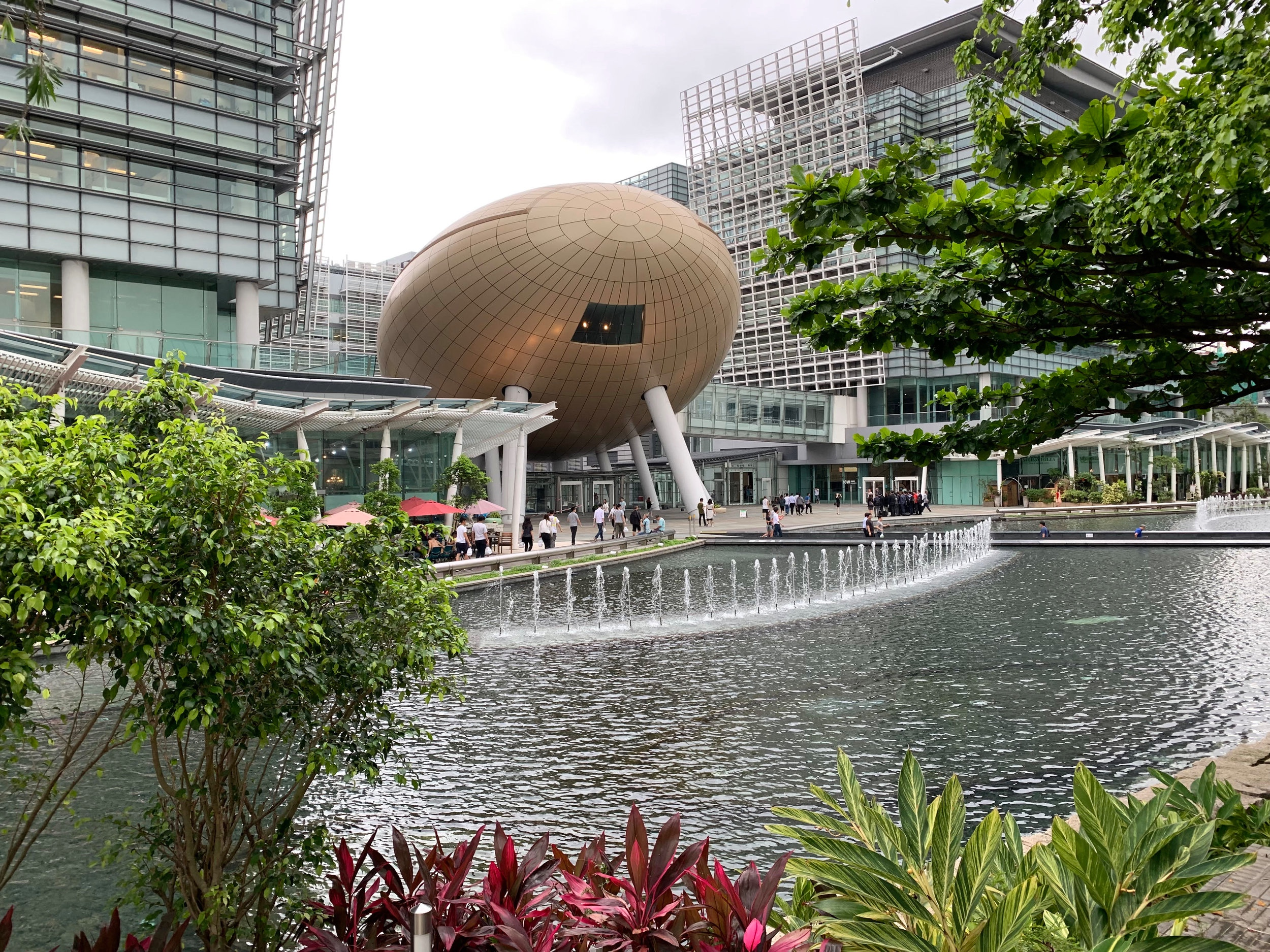 Isaac works in the Hong Kong Science and Technology park.