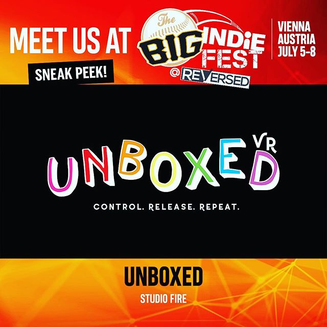 We cant wait to be in Vienna this summer showing off Unboxed's Beta demo!! Hope to meet some cool people there 😎#gamedev #indiegame #unboxed #vr #virtualreality