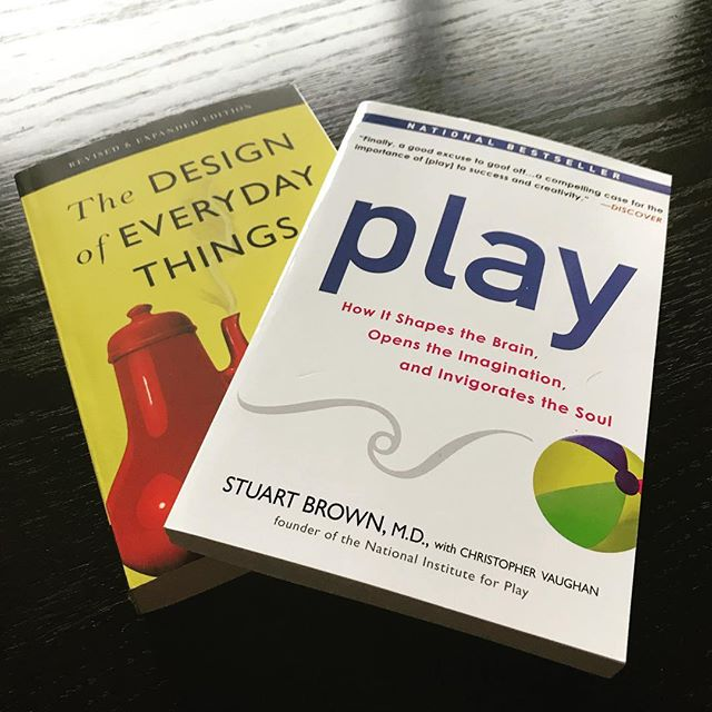 Excited for the next books on my list! It feels so empowering to read things you can apply to your design and design thinking. Cant wait to see how my thoughts and research further develop after these! #reading #research #gamedev #indie #mfa #nerd #design #designer #play