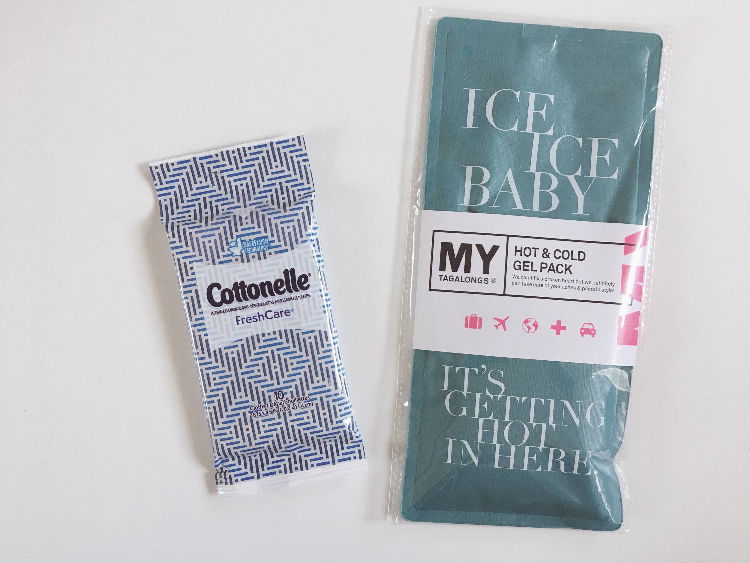 Cotenelle + Mytagalongs - Cleansing Cloths + Hot & Cold Gel Pack