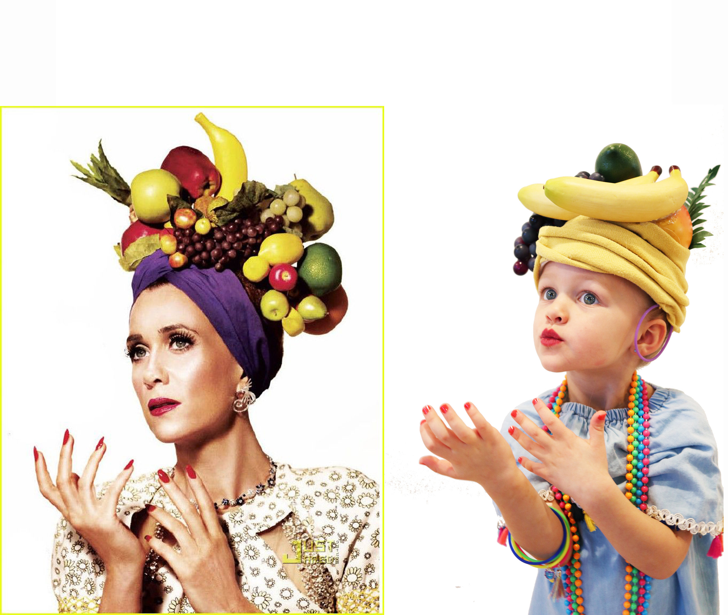 Brazilian Bomb Shell, Carmen Miranda dress-up