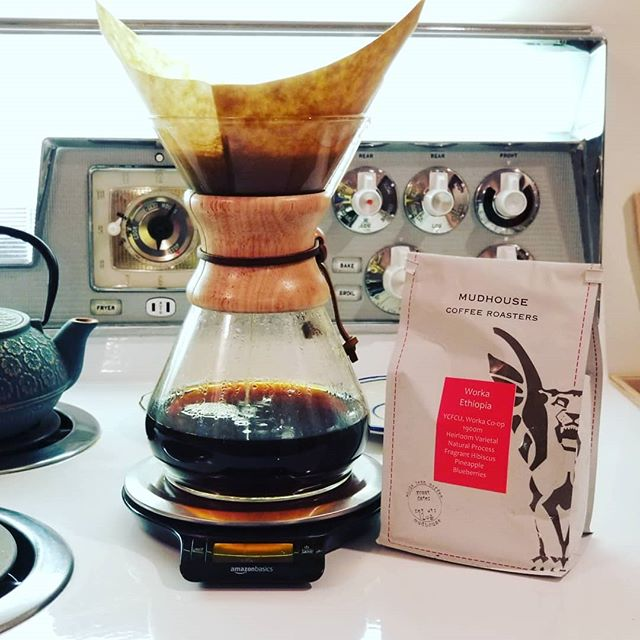 Thanks @low_key_loki for bringing this incredible @mudhousecoffeeroasters bean to our shop day on Monday! So So good, will savor every drop..