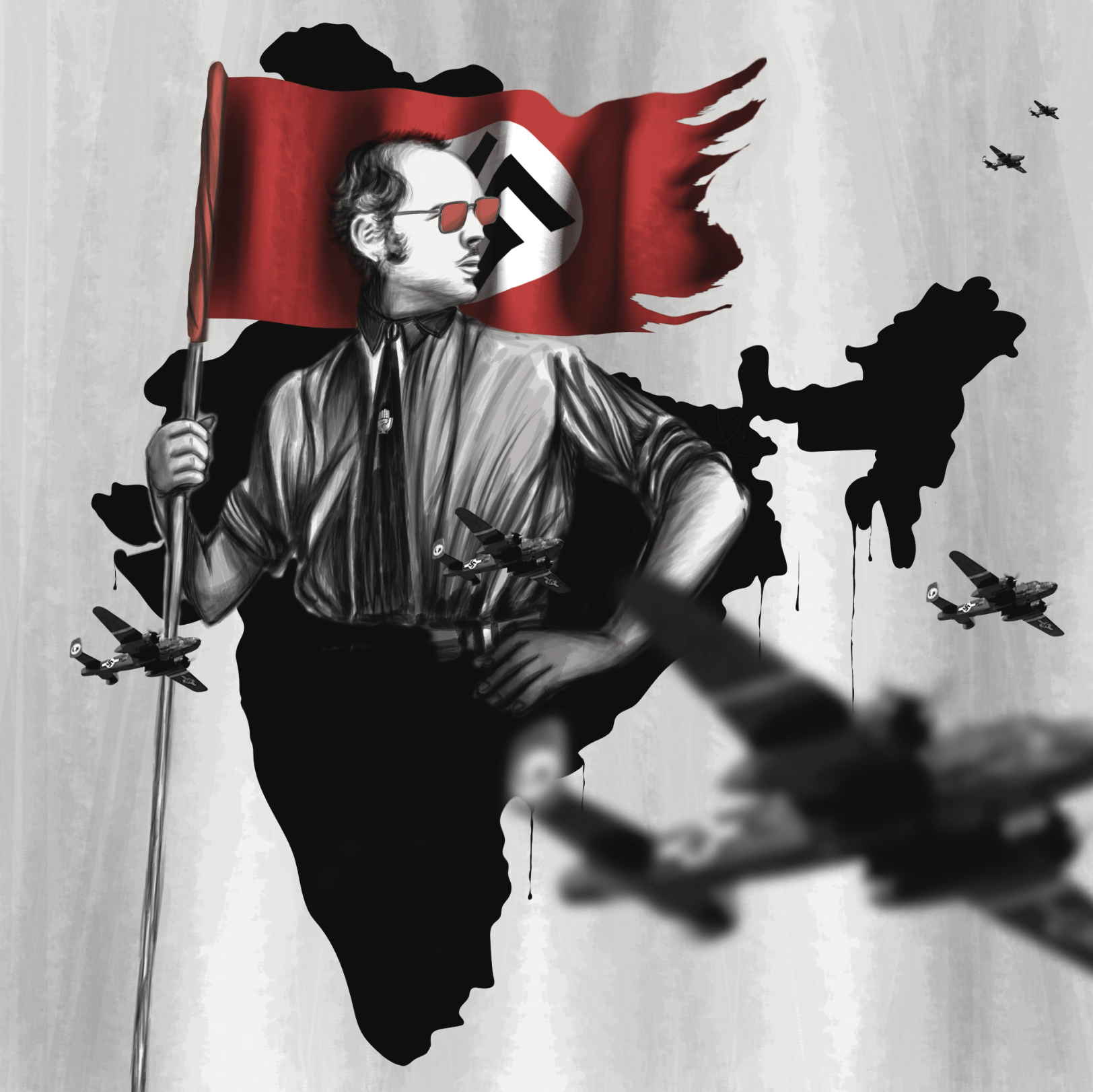 """1980 : """"Sanjay Gandhi was touted as the great dictator of India. A man of two sides, with people divided in opinion whether to love him or hate him. I want to portray that dilemma against a backdrop of the India that could be, had he survived the plane crash on June 23, 1980."""" ~ Kunel Gaur"""
