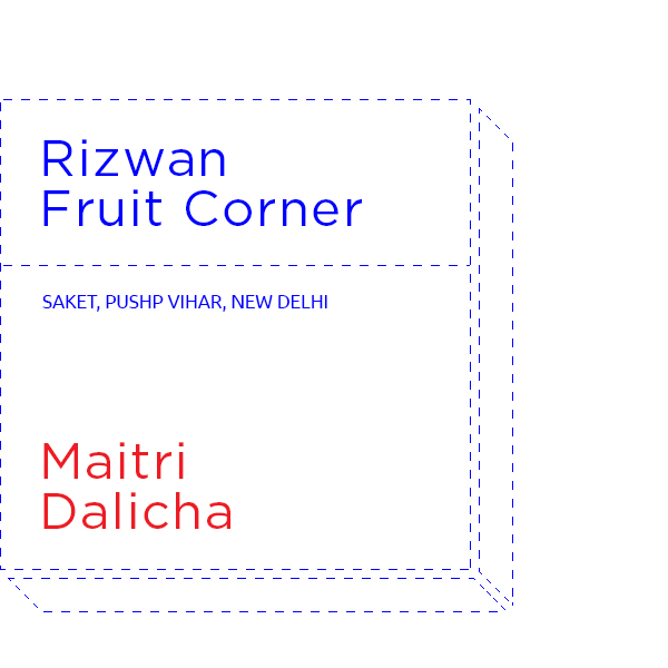 The original Fruit Ninja, Rizwan's shop is a splash of colour and essential nutrients.