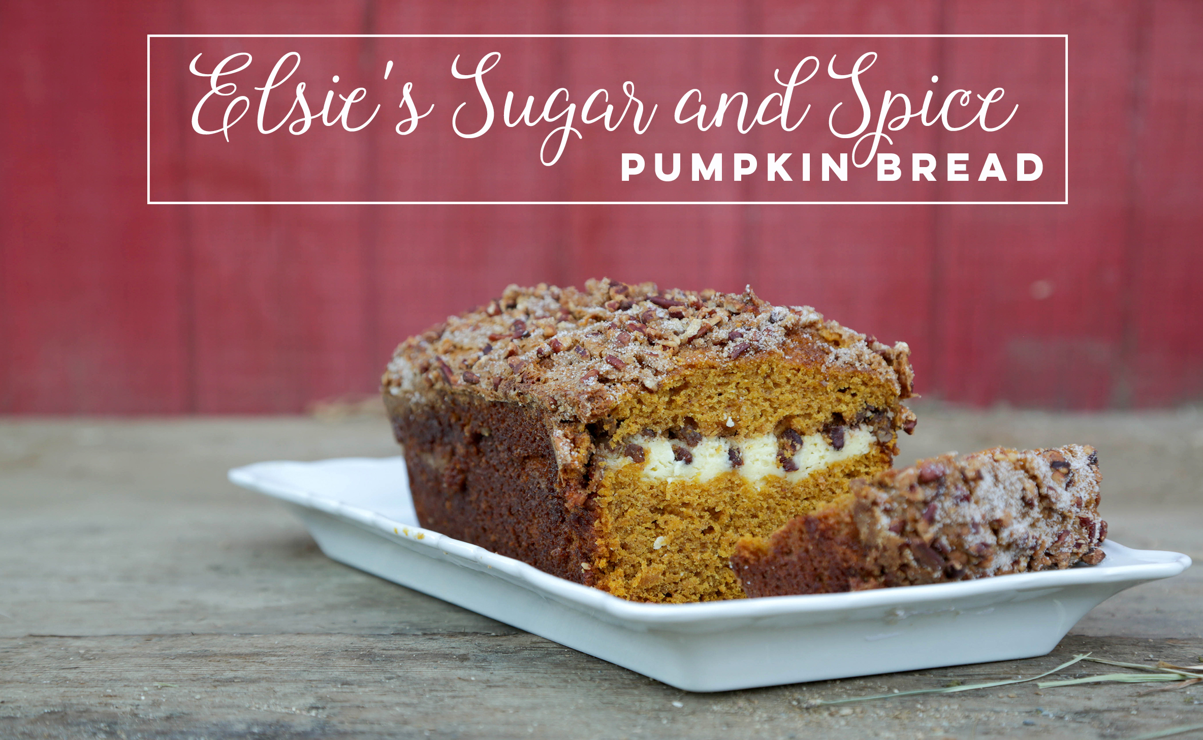 Elsie's Sugar and Spice Pumpkin Bread - Remember Elsie's delicious Sugar and Spice Pumpkin Bread from Marigolds and Murder? We've got the recipe! Click the photo.