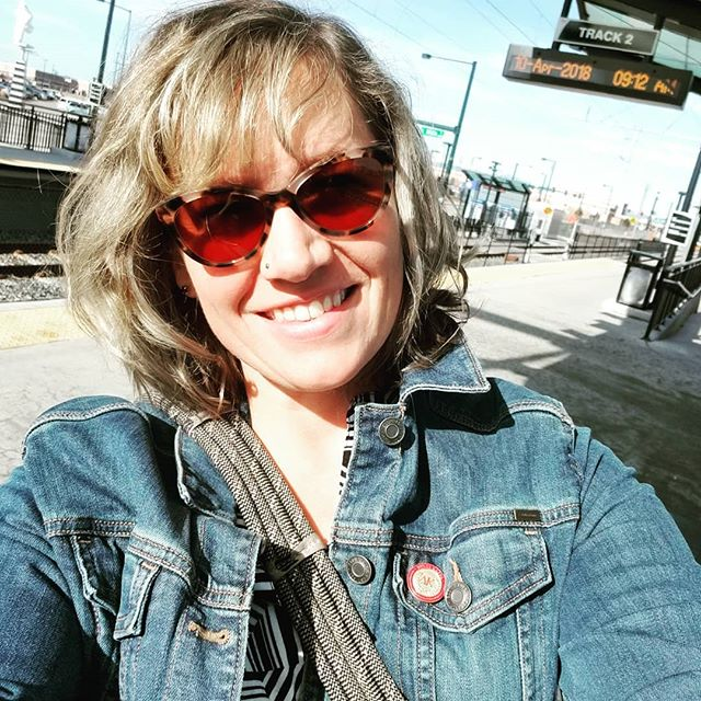 Sometimes doulas take the train to work! #bravingdoulas #bravingpostpartum #postpartumdoula