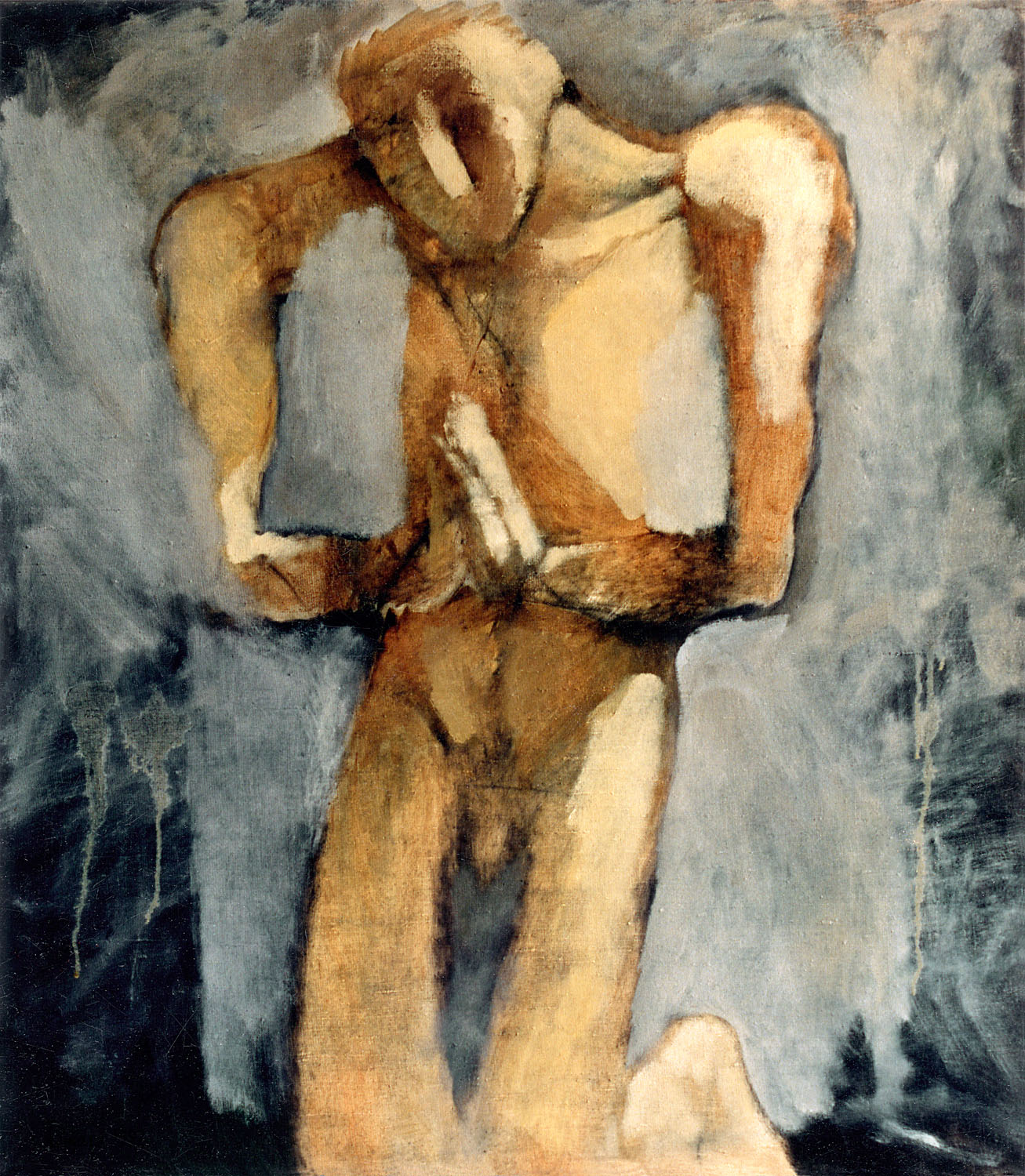 Prayer, 1992, oil on canvas, 43.3 x 43.3 inches, (110 x 110 cm)