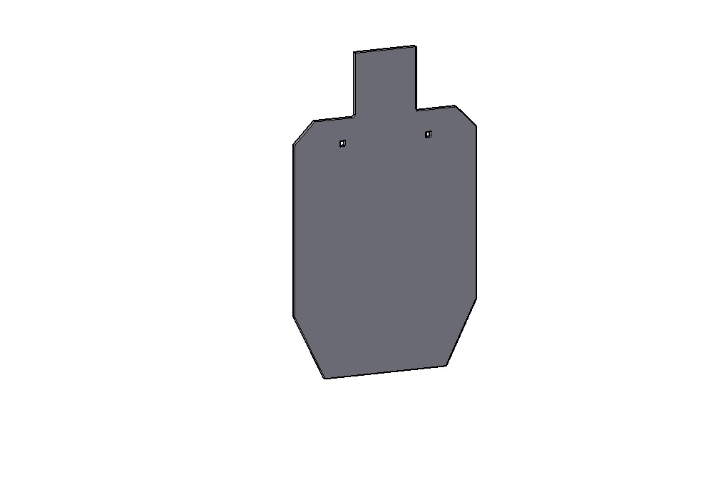 IPSC SILHOUETTES - Based on standard IPSC Silhouette Dimensions, these target are offered in a variety of different sizes based on zones and percentages allowing shooters to train for certain hits or simulate varying ranges. They're great for handgun, carbine or precision rifle.