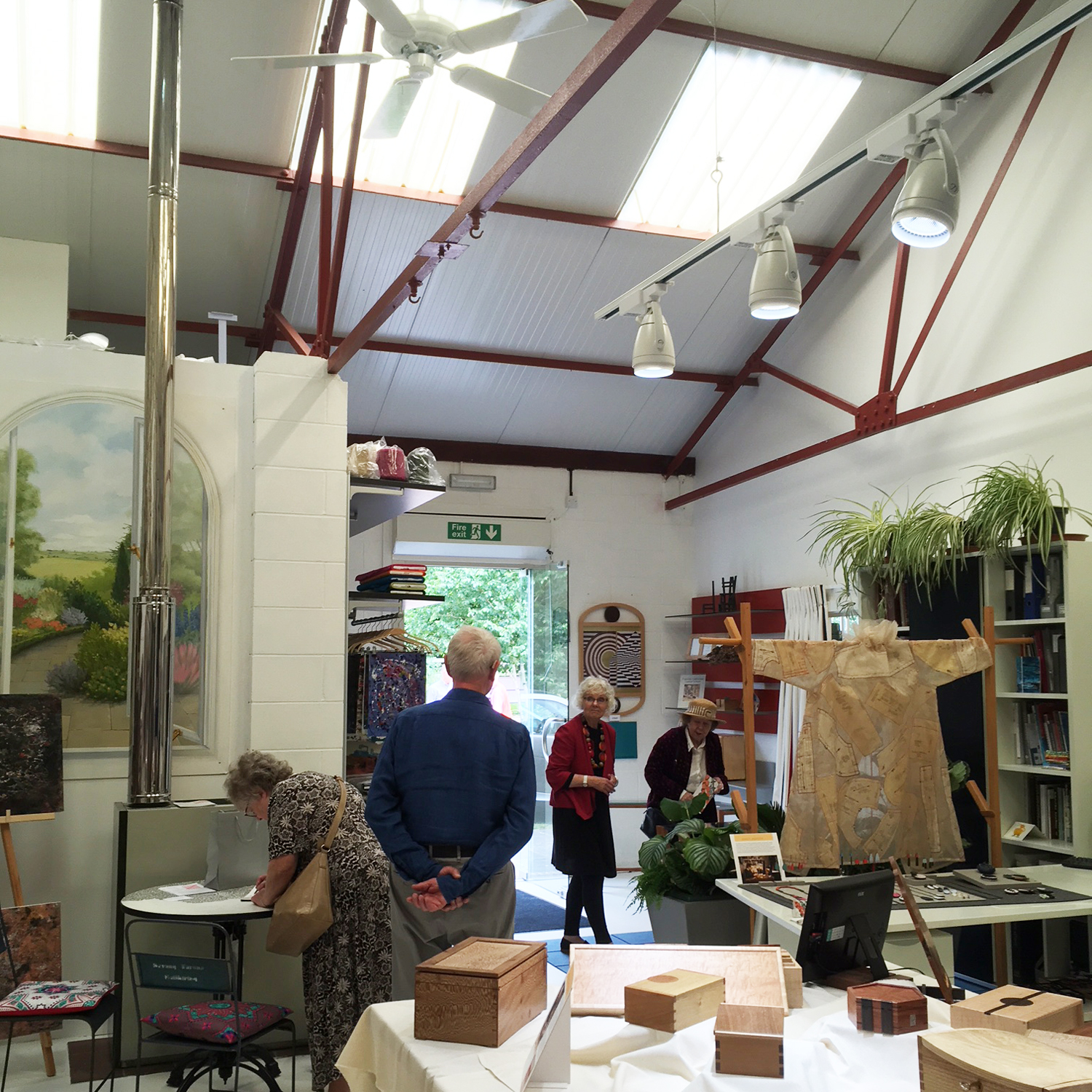 open studios in action