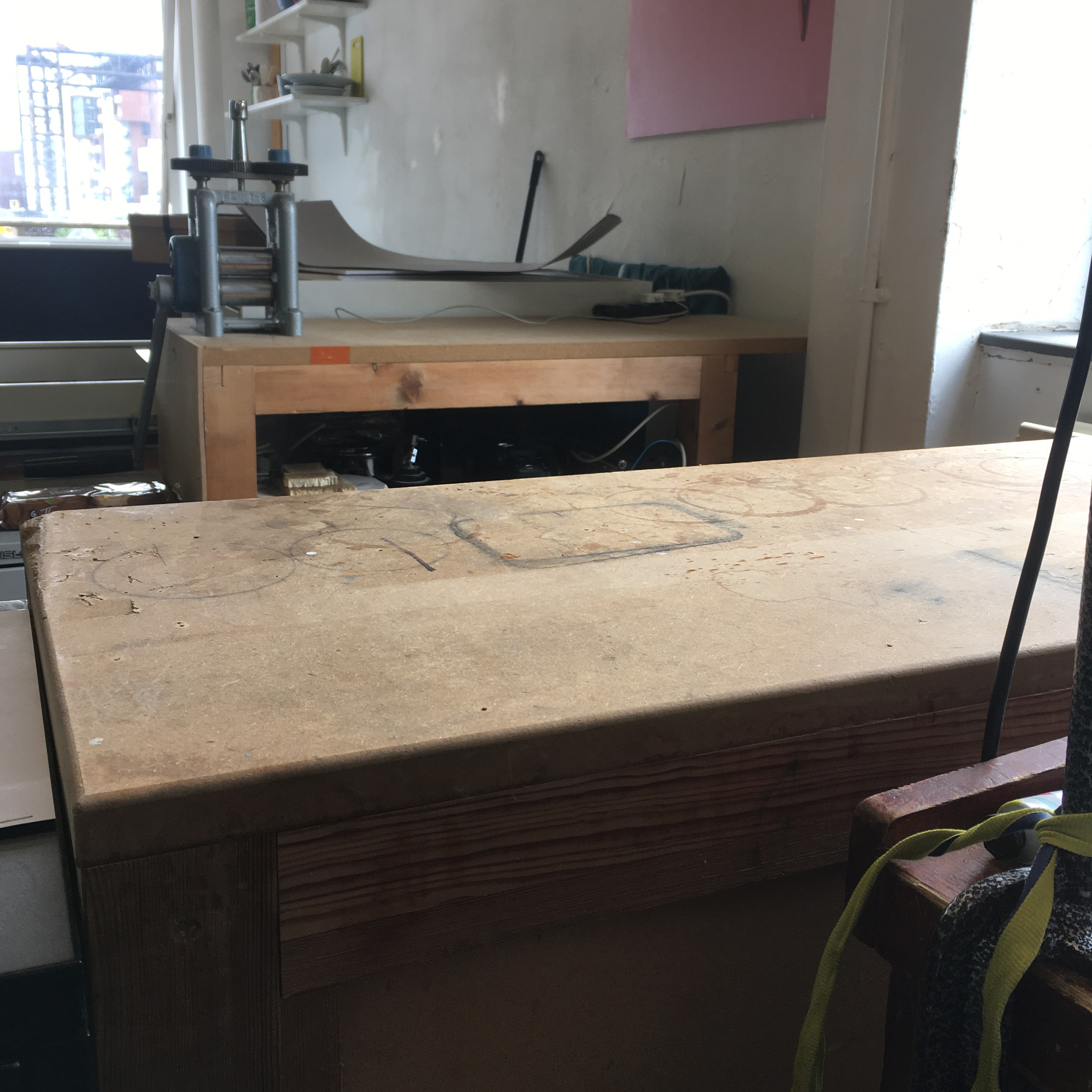 Clearing my bench tops!