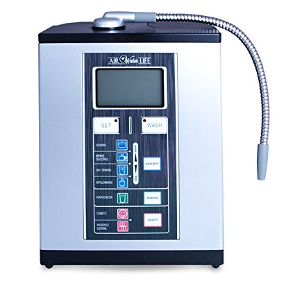 The Best Aqua Ionizer - Air Water Life's Aqua-Ionizer Deluxe 9.0Alkaline Water Ionizer can make a valuable addition to your family. Ionized alkaline water creates natural antioxidants (reduced ORP levels) and supports better hydration along with other health benefits. BUY $1,395.00