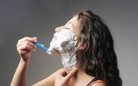 Really? - Shaving just doesn't feel right for a woman.