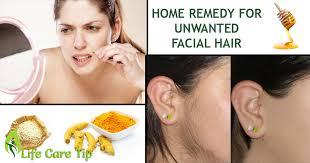 There is an easy way to get rid of unwanted facial hair.