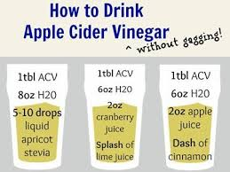 Take apple cider vinegar daily to get the benefits and nutrients your body needs.
