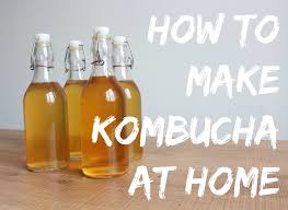 Be Safe When Making Kombucha at Home