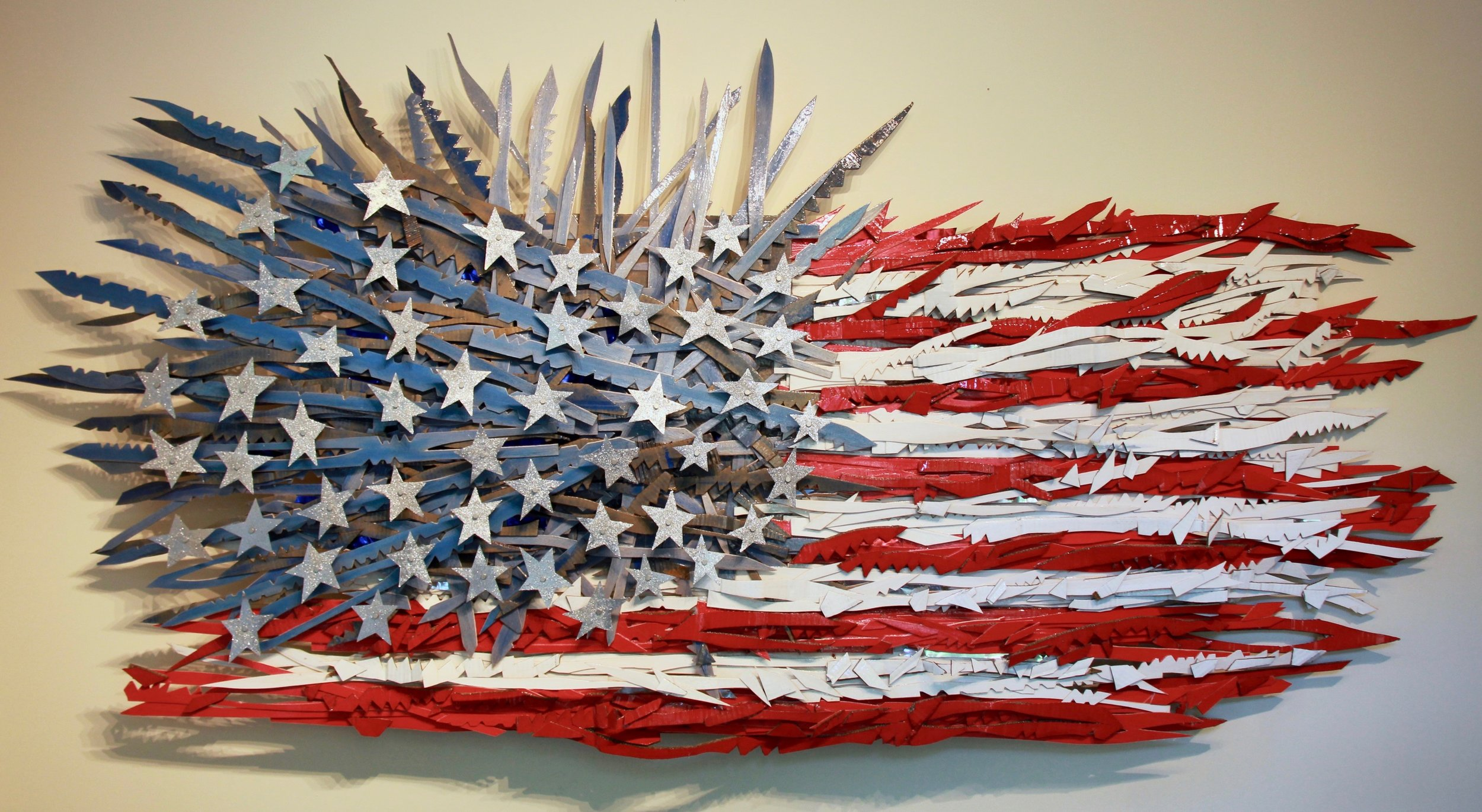 Flag #24 (disintegration)